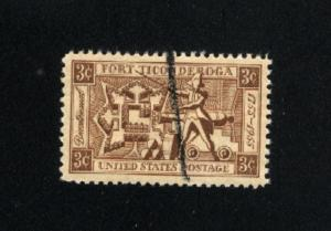 USA #1071 used 1955 PD .08