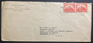 1931 Port Au Prince Haiti Financial Bureau Cover To Washington DC Usa