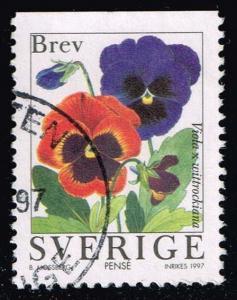 Sweden #2231 Pansies; Used (0.45)