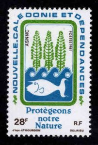 New Caledonia (NCE) Scott 469 MNH**Nature Preservation stamp