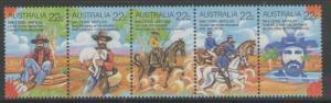 AUSTRALIA SG742/6 1980 FOLKLORE MNH
