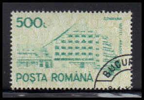 Romania Used Fine D37101