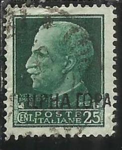 MONTENEGRO 1941 IMPERIALE SOPRASTAMPATO D´ITALIA ITALY OVERPRINTED CENT. 25 ...