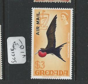 GRENADA (PP1308B) QEII  BIRD A/M $3.00 SCC18    MNH