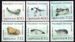 Greenland #233-8 MNH  CV $15.50  (X1369)