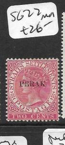 MALAYA PERAK (P0109B) QV SG22  MOG