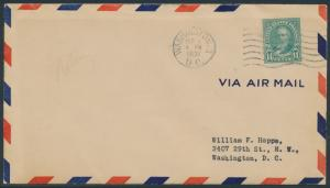 #692 9/4/31 WASHINGTON, DC CANCEL ON FDC CV $100 BR7269