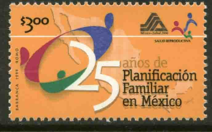 MEXICO 2163, FAMILY PLANNING. MINT, NH. VF.