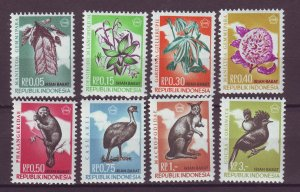 J25010 JLstamps indonesia-irian barat 1968 mnh set wildlife