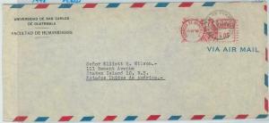 79016 - GUATEMALA - Postal HIistory -  Mechanical postmark OVERSIZED COVER Birds