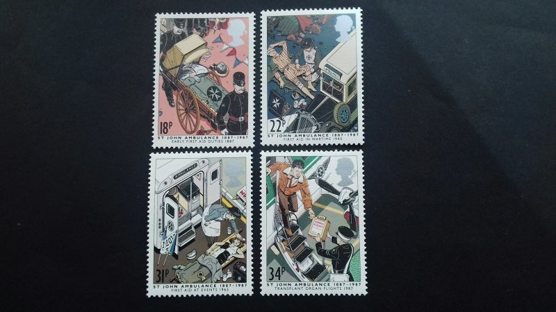 Great Britain 1987 First Aid Mint