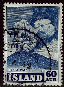 Iceland #250 Used F-VF SC$5.00.....ICE your collection!