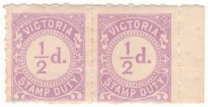 (I.B-CK) Australia - Victoria Revenue : Stamp Duty ½d