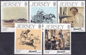 Jersey #406-10 MNH CV $3.30  (Z3875)