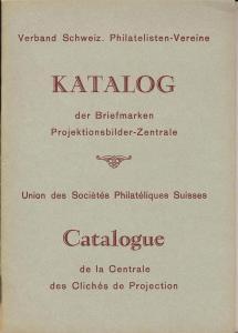 Vereine: Sale #   -  Katalog der Briefmarken Projektionsb...