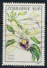 Zimbabwe SG 863  SC# 695  Used   Orchids   see detail and scan