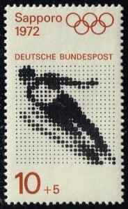 Germany #B475b Olympic Ski Jump; MNH (0.25)