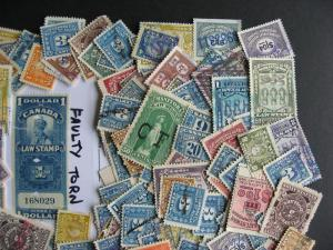 Canada 200 Revenues mixture (heavy duplicates,mixed cond) check them out!