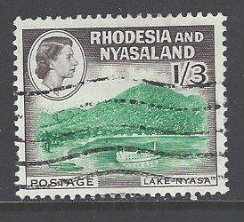Rhodesia & Nyasaland Sc # 166 used (RS)