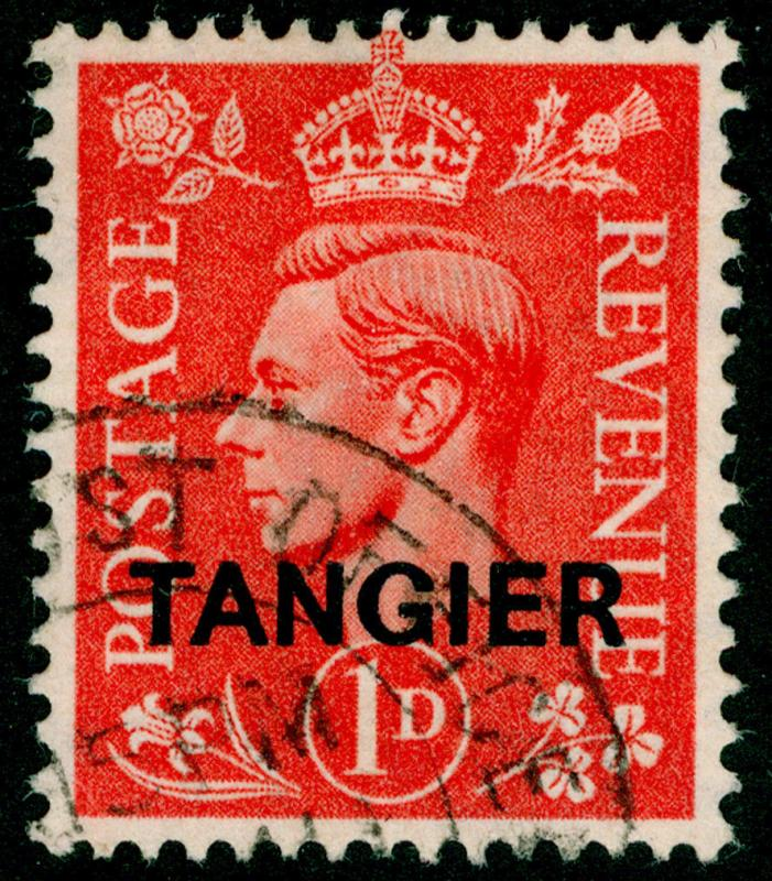 Sg252, 1d pale scarlet, FINE used, CDS.