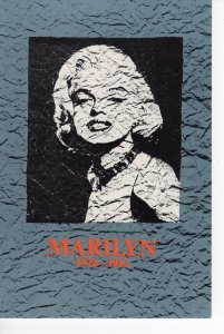 MARILYN MONROE POST CARD 1986 LONDON