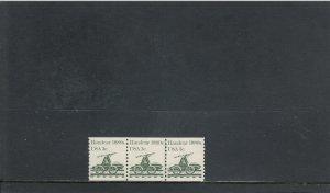UNITED STATES 1898 MNH PLATE STRIP 3 PLATE 1 2019 SCOTT CATALOGUE VALUE $0.55