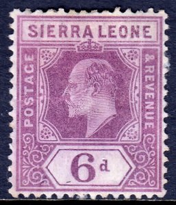 Sierra Leone - Scott #98 - Used - Repaired tear - SCV $9.00
