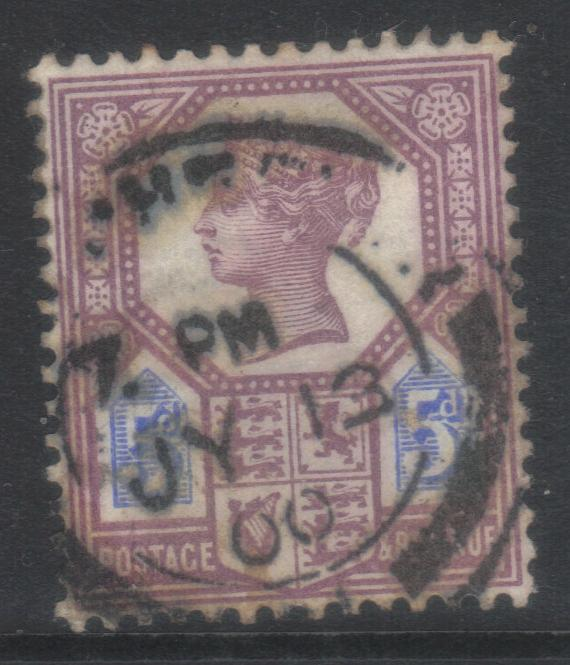 GB 1887-1892 JUBILEE SG207a USED CAT £15