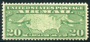 HERRICKSTAMP UNITED STATES Sc.# C9 Fresh VF NH Airmail Stamp