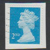 GB QE II Machin SG U2963 - 2nd brt blue -  M11L - Source  T