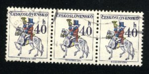Czechoslovakia 1970   (3)   used VF 1974 PD