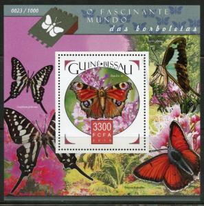 Guinea-Bissau MNH S/S World Of Butterflies 2015