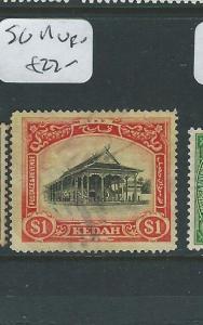MALAYA KEDAH (P0410B) HOUSE $1.00  SG 11 COPY 2   VFU
