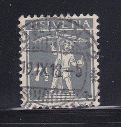 Switzerland 162 U William Tell's Son (A)