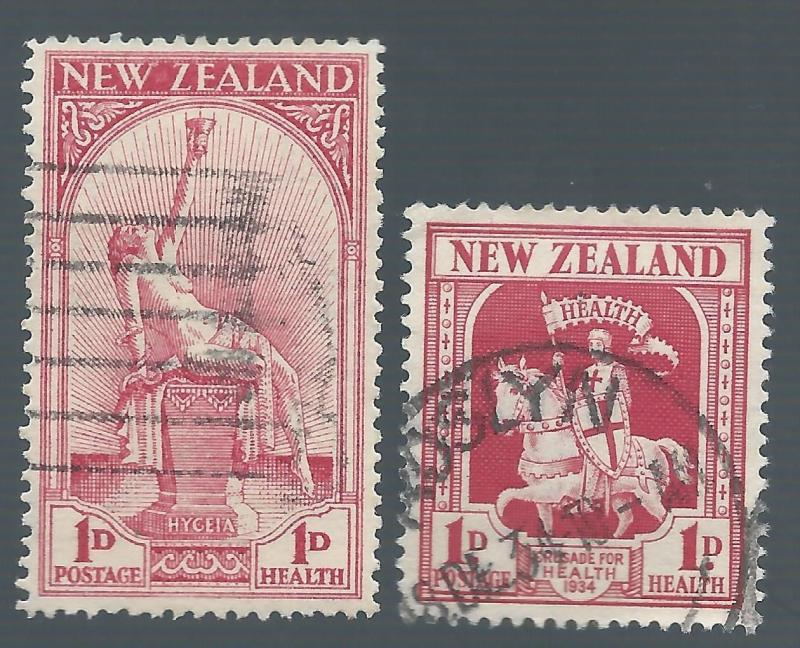 NEW ZEALAND 1932-34 HEALTH CHARITY STAMPS