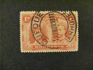 Rhodesia #102b used perf 15 a21.9 3216