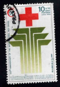 THAILAND Scott 1299 Used Red Cross stamp