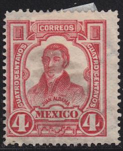 Mexico 313 Hinged Used 1910 Juan Aldama