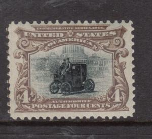 USA #296 Very Fine Never Hinged