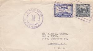 El Salvador to Chicago, IL, Airmail, 1931, (21573)