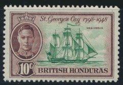 British Honduras SG 170 SC # 135 MLH Battle of St George's Cay please see scan
