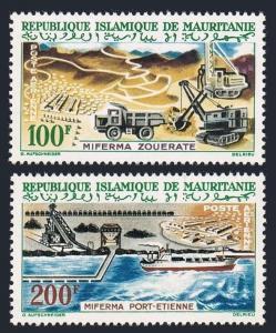 Mauritania C20-C21,MNH.Michel 202-203. Open-pit Mine.Port Etienne,1963.