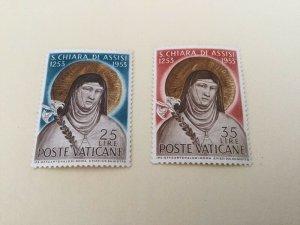 Vatican City Sc# 169-170, F-VF, OG, MNH Complete Set of 2, CV $18.00