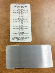 Kiusalas METAL US Specialist Perforation  Gauge  Vintage, scarce