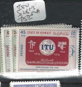 KUWAIT  (PP1505B)   ITU     SG 281-3         MNH