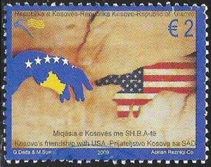 U.N. Kosovo 128 Used - Friendship with United States