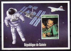 Guinea 2000 YT#1323 Space-Apollo 11-Hornet -Concorde SS Perforated MNH