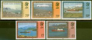 Falkland Is Dep 1985 Pictorial Imprint set of 5 V.F MNH