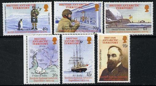 British Antarctic Territory 2002 Heroic Age of Antarctic ...