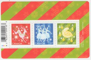 Canada -  *NEW* CHRISTMAS Shiny & Bright, 2019 Souvenir Sheet - MNH